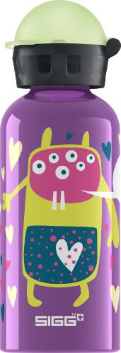 Sigg 8423.20 Glow in the dark Monster solid violet 0,4l