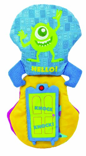 Kids Preferred Disney Baby Monsters Inc. Soft Book front-103531