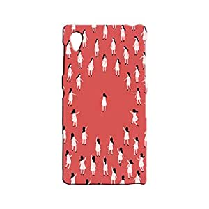 BLUEDIO Designer 3D Printed Back case cover for Sony Xperia Z1 - G7270