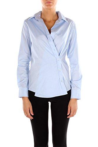 Camicie Pinko Donna Cotone Celeste 1B11FR5131E78 Celeste 42