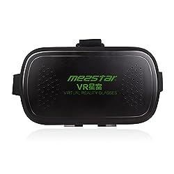 Head Mount Plastic VR Virtual Reality 3D Glasses Google Cardboard VR Box Glasses for 3.5-6.0 inch Smartphone