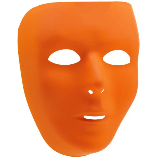 Orange Full Face Mask