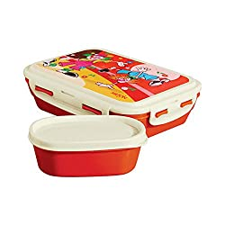 Milton Fun Treat Tiffin , Red,(EC-HHF-FHN-0004_RED)