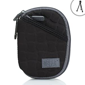 FlexARMOR X Compact Digital Camera Case for Canon A2300 , ELPH 115 , A2500 / Nikon AW110 / Panasonic DMC-XS1 , DMC-SZ3 , DMC-FH10 / Sony DSC-WX80 , DSC-W730 & More Digital Cameras