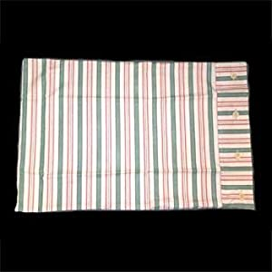 Shams Multi Colored Cotton /Polyester Waverly Striped Sham