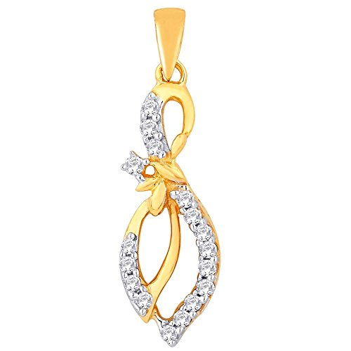 Sangini Sangini 18K Yellow Gold Diamond Pendant (Multicolor)