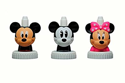 good2grow spill-proof bottle toppers 3-pack, Disney- Mickey Mouse, Steamboat Willie, Minnie Mouse