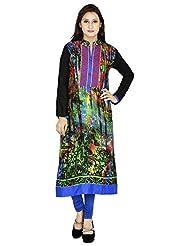 Agroha Women's Rayon Long Sleeve Kurti - B016Y06C3I