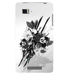 PRINTSWAG FLOWERS Designer Back Cover Case for LENNOVO VIBE ZK910