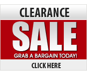 View our range of Clearance and Sale Offers - Grab a Bargain Today!