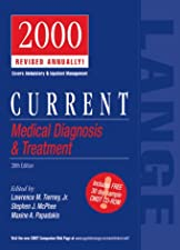CURRENT Medical Diagnosis and Treatment by Lawrence