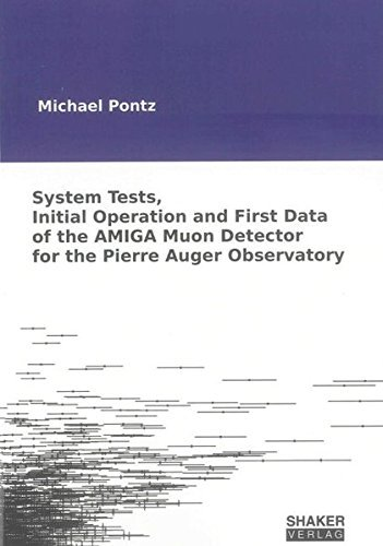 system-tests-initial-operation-and-first-data-of-the-amiga-muon-detector-for-the-pierre-auger-observ