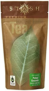 Stash Tea Organic Pinhead Gunpowder Green Loose Leaf Tea, 3.5 Ounce Pouch from Stash Tea Company