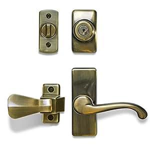 Ideal Security Inc. Deluxe Storm and Screen Door Lever ...