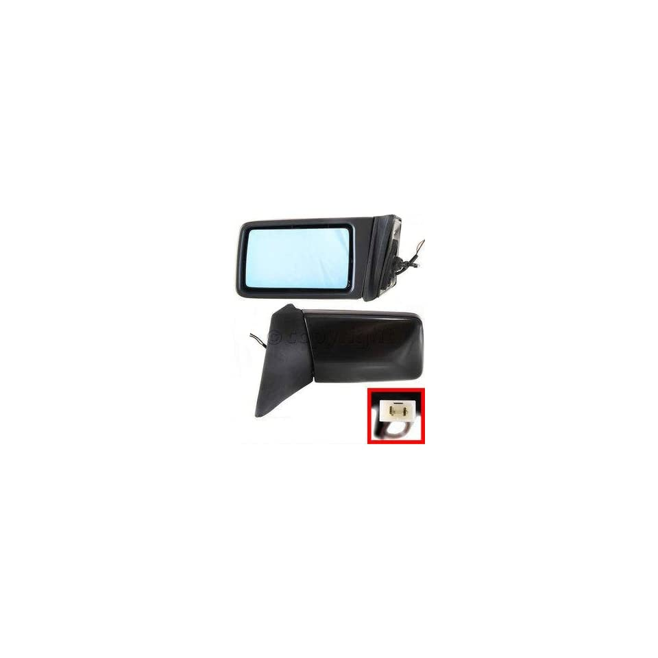 Mirror Drivers Side LH Mercedes Benz E Class Manual Remote, Manual Folding, Heated, 124 Chassis