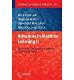 img - for [(Advances in Machine Learning II: Dedicated to the Memory of Professor Ryszard S. Michalski )] [Author: Jacek Koronacki] [Jan-2011] book / textbook / text book