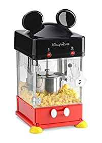 Disney Mickey Kettle Style Popcorn Popper