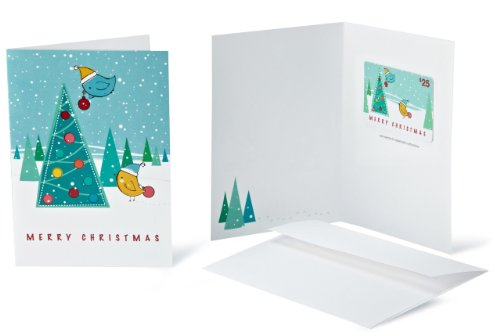 Amazon.com Gift Card with Greeting Card – $25 (Christmas Tree) image