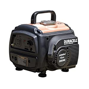 Duracell DS10R1i 1,000 Watt 63cc 2-Stroke Gas Powered Portable Inverter Generator (Discontinued by Manufacturer)