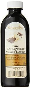 Victorian Inn Pure Madagascar Vanilla Extract, 4 Ounce