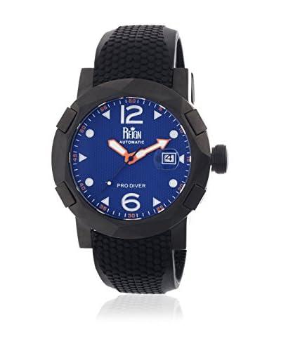 Reign Reloj con movimiento automático japonés Tudor Reirn1207 Negro 45  mm
