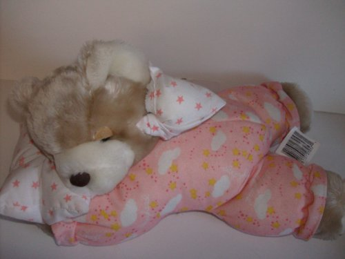 "Starlight Starbright Night Time Bear 14"" long - 1"