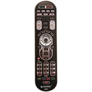 URC WR7 Universal Remote Control for up to 7 A/V Components with 4 Favorite Channel Buttons