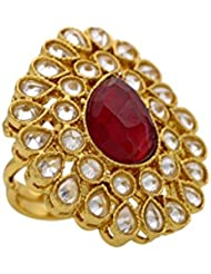 BEAUTIFUL ANTIQUE GOLD PLATED BIG FASHIONABLE FINGER RINGS RING211