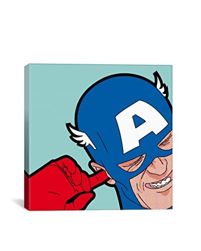 Captain-Hearing Gallery-Wrapped Canvas Print