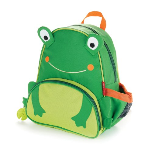 Learn More About Skip Hop Zoo Pack Little Kid Backpack, Frog