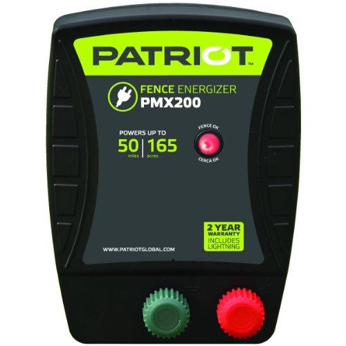 Patriot Pmx200 Electric Fence Energizer, 2.0 Joule