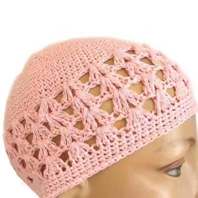 Crochet Skull Cap : CROCHET BEANIE SKULL CAP HAT Buy SUPER PINK CROCHET BEANIE SKULL CAP ...