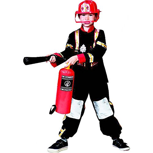 Fireman Flash Kids Costume
