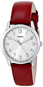Timex Women's T2P0859J Analog Display Analog Quartz Red Watch