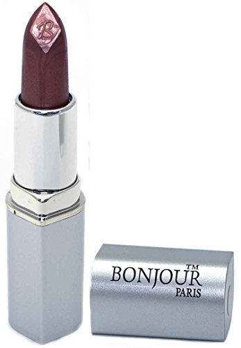 BONJOUR PARIS Bonjour Paris Premium Shine Lipstick Brown Shimmer Shine, 0.15 Ounce