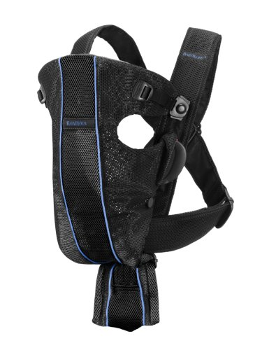 BABYBJÖRN Baby Carrier Air - Black, Mesh