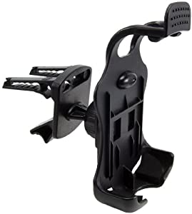 Arkon Removable Air Vent Mount with Swivel Ball Adjustment for BlackBerry Curve - Black