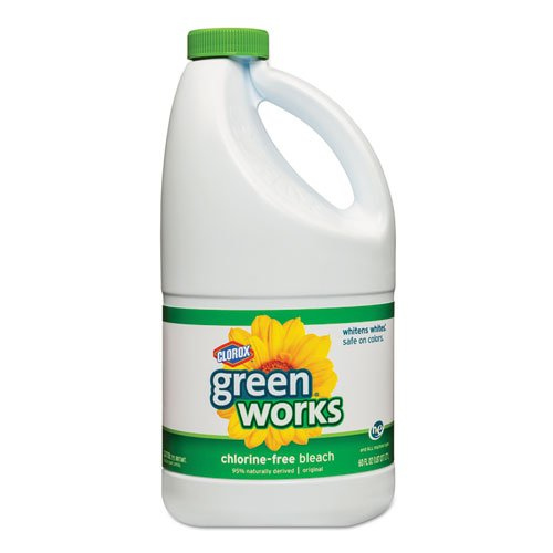 Green Works Chlorine-Free Bleach, 60oz Bottle, 8/Carton (Chlorine Bottles compare prices)