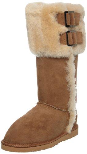 WLM New Zealand Women's Maroeska Chestnut Knee High Boots MARCHT 7 UK, 40.5 EU, 8 US