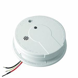 kidde p12040 hardwire with battery backup photoelectric smoke alarm smoke d. Black Bedroom Furniture Sets. Home Design Ideas