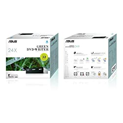 Asus Internal DVD Writer DRW-24D3ST (Retail Box) + Free 16GB Asus WebStorage for 1 Year