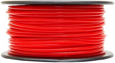 MG Chemicals Pla, 3 mm, 0.25 Kg Spool, Premium 3D Filament, Red