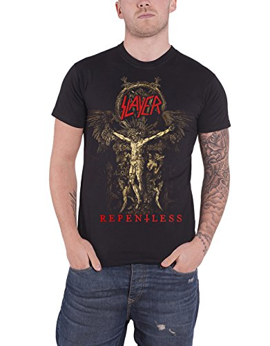 Slayer T Shirt Repentless Cruciform Sk...