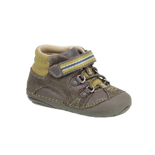 Stride Rite Srt Sm Duke Sneaker (Infant/Toddler),Cinder/Truffle,3 W Us Infant front-749193