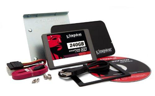 Kingston Technology KC300 SSDNow Bundle Solid State Drive - SKC300S3B7A/240G