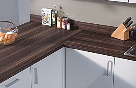 Egger Contemporary Thermo Pine Wood Woodgrain Effect Kitchen Bathroom Laminate Worktop Offcut Work Surface 40mm Breakfast Bar
