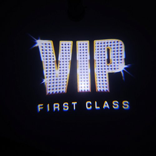 Padaday Noble shining VIP party replaceable insert Logo film slide Emblem for car door magnetic welcome light USB dome cigarette projector light Home door ceiling E26 E27 projector light (Shining VIP) (Magnetic Emblem compare prices)