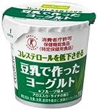 豆乳で作ったヨーグルト フルーツ味 アロエ葉肉入り【110g×12コ×2】クール便