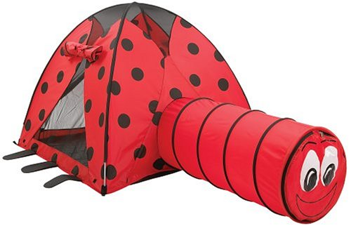 Pacific Play Tents Lady Bug Tent And Tunnel Com. front-756300