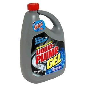 Liquid-Plumr Gel Clog Remover, Professional Strength 2.5 qts (80 fl oz) 2.37 lt